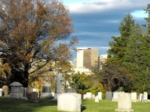 Hartford Skyline from Zion Hill Nov 3 2012