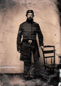 Private William Smith, Co. F, 16th Connecticut Volunteer Infantry (photo: Connecticut State Library)