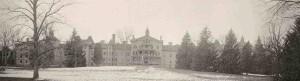 Retreat for the Insane circa 1886