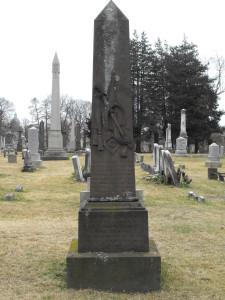 Lt. Wm. Oliver grave site, Spring Grove Cemetery, Hartford