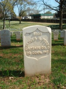 Capt.Post's gravesite Marietta National Cemetery (photo: Findagrave.com)