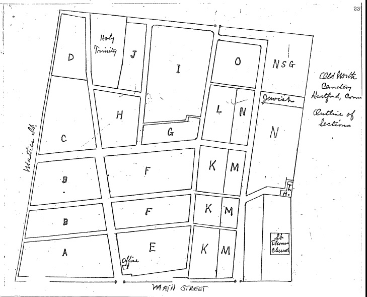 Old North Section map